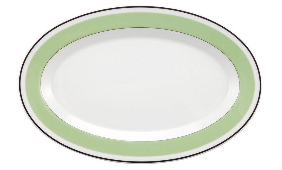 Seltmann Weiden Beilagenplatte »No Limits Green Phantasy« in Weiß, Grün