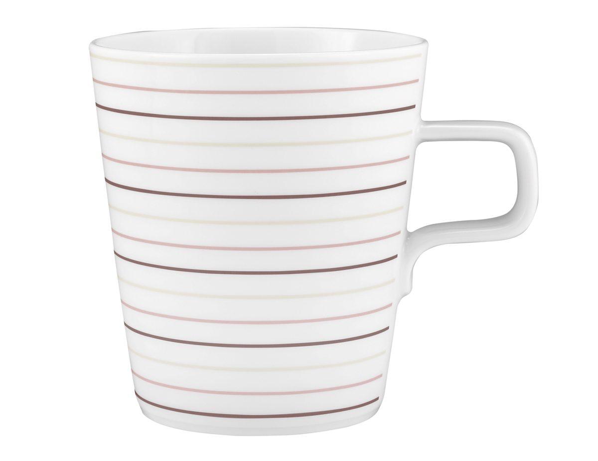 Seltmann Weiden Milchkaffeetasse »No Limits Cream Lines«