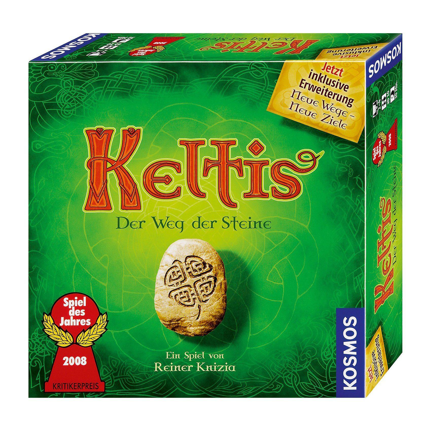Kosmos SPIEL DES JAHRES 2008 Keltis (inkl. Erweiterung)
