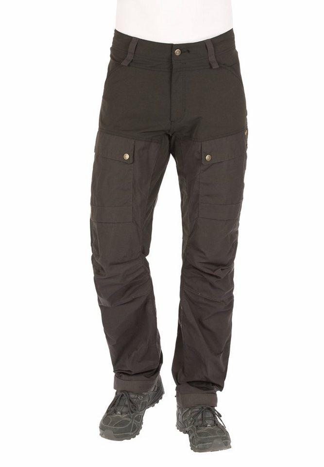 Fjällräven Outdoorhose »Keb Trousers long Men« in grau
