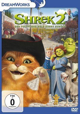 DVD »Shrek 2 - Der tollkühne Held kehrt zurück«