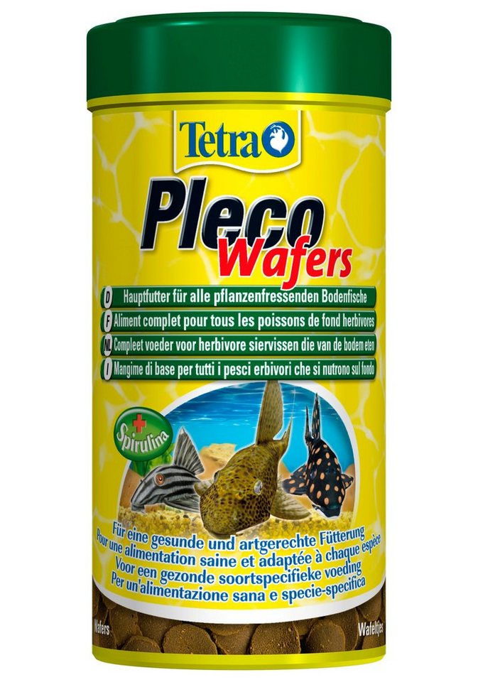 Fischfutter »Pleco Wafers« 2-er Set in braun