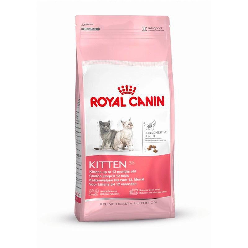 Katzentrockenfutter »Kitten«, 2 kg, 4 kg oder 10 kg in braun