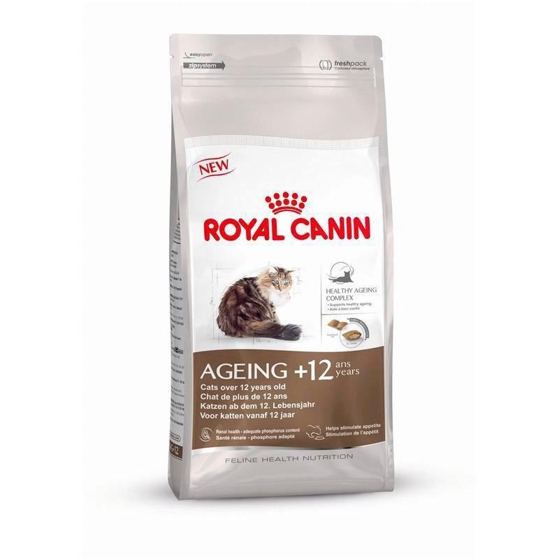 Katzentrockenfutter »Ageing +12«, 2 kg oder 4 kg in braun