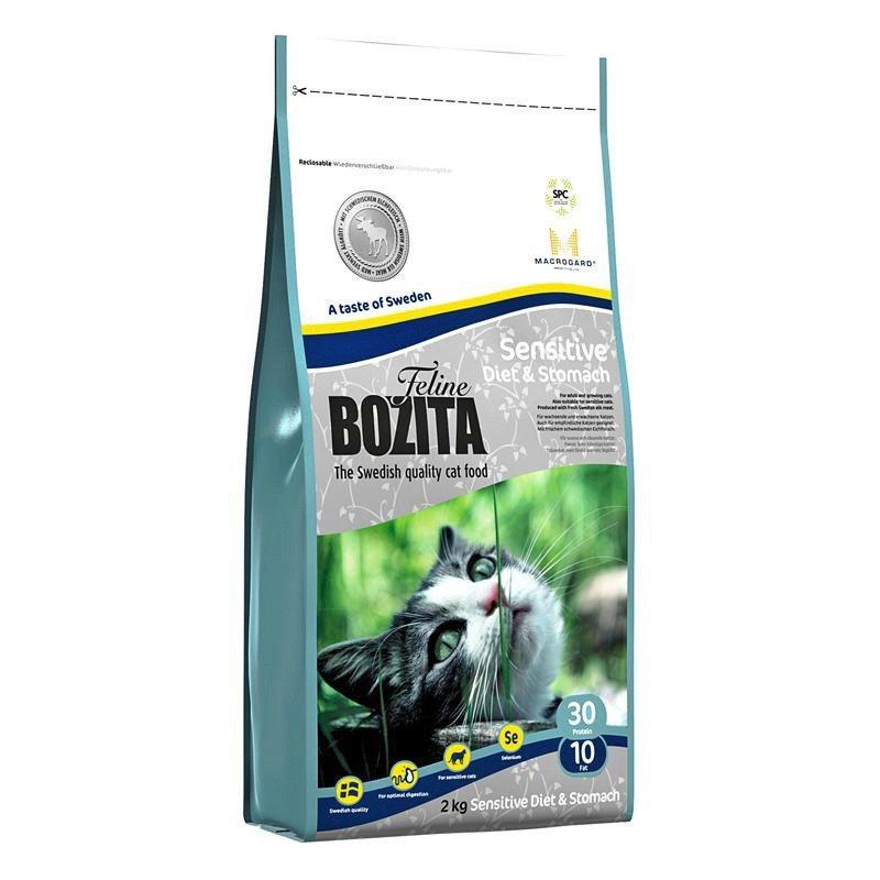 Katzentrockenfutter »Feline Funktion™ Sensitive Diet & Stomach«, 10 kg in braun