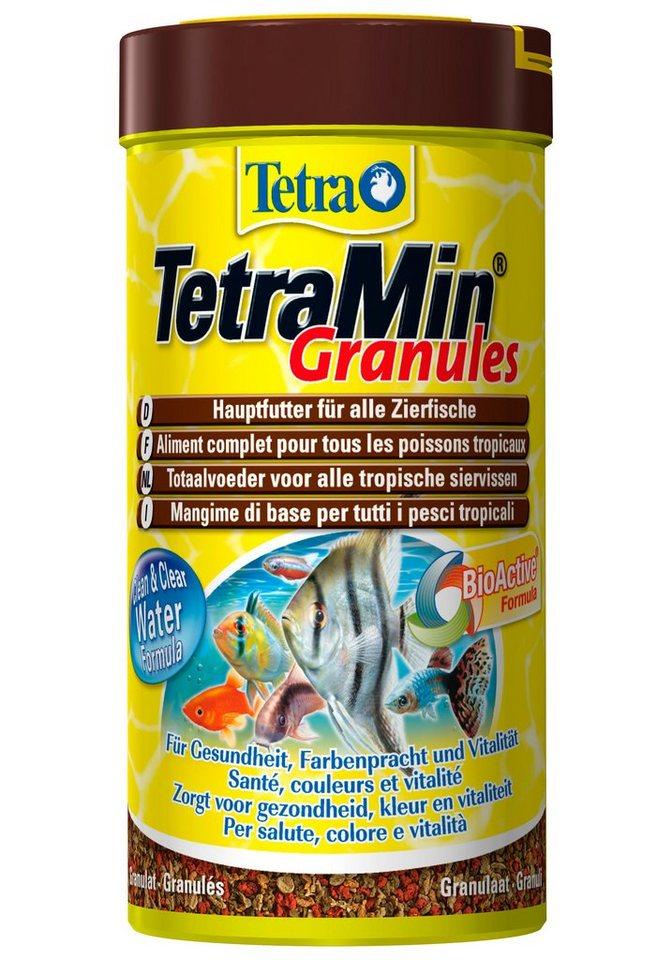 Fischfutter »Min Granules« 2-er Set in braun