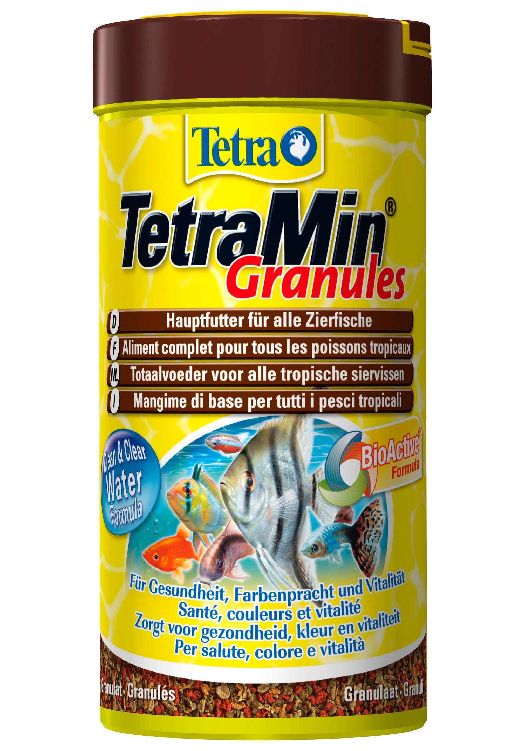 Fischfutter »Min Granules« 2-er Set