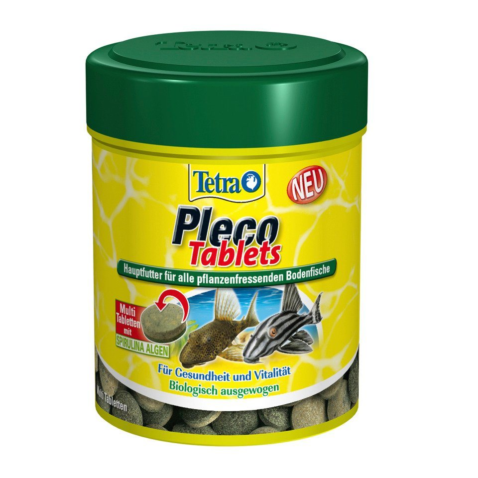 Fischfutter Tabletten »Pleco Min« 2-er Set in braun