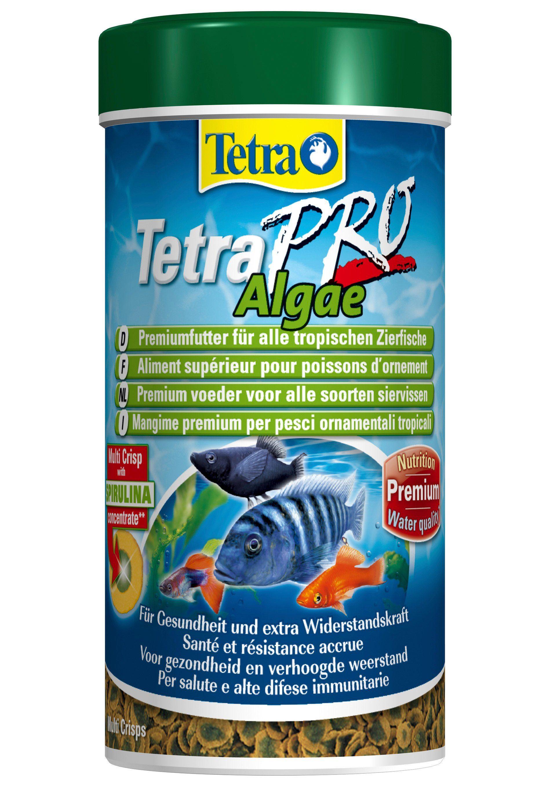 Fisch-Flockenfutter »Pro Algae« 2-er Set