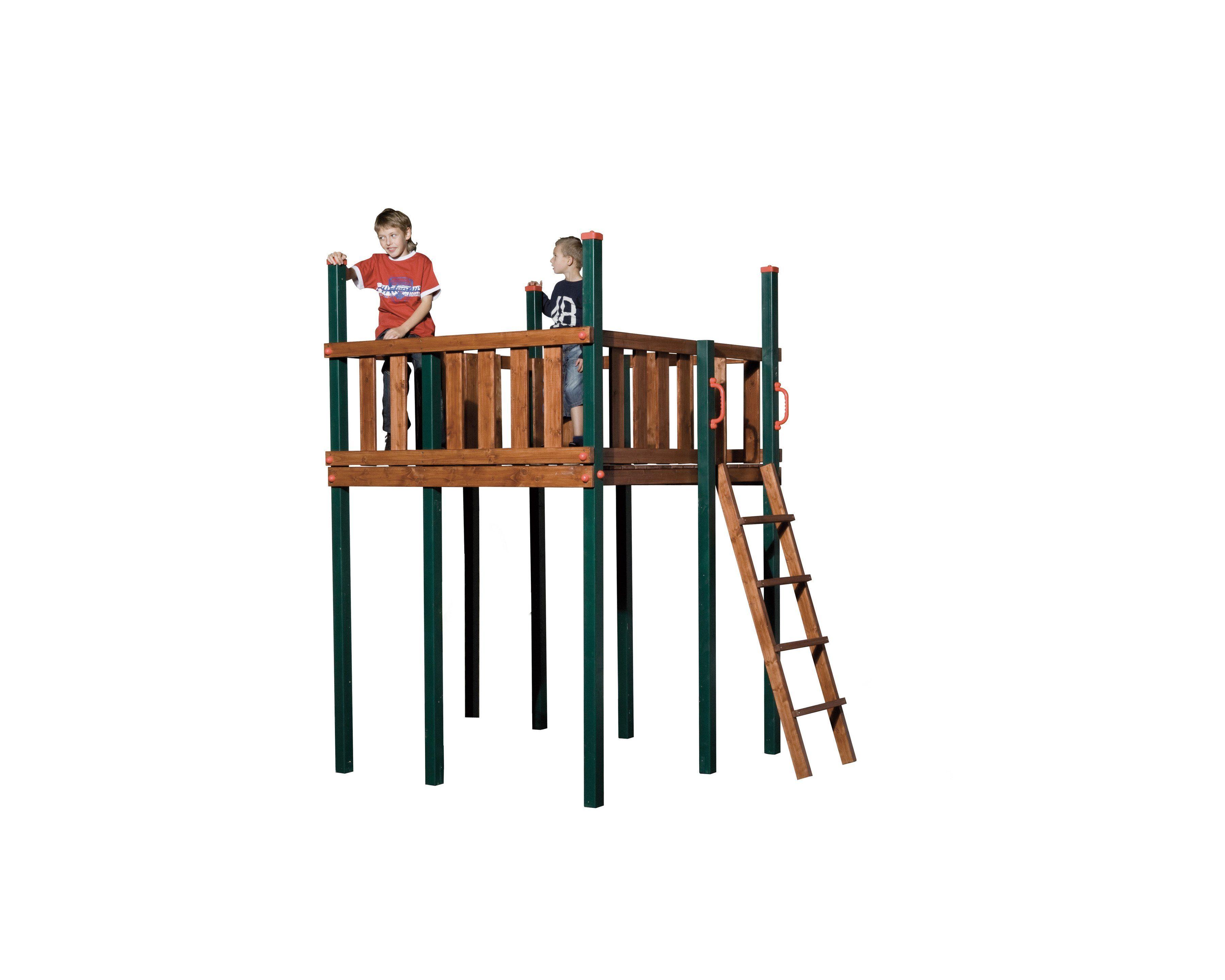 WEKA Aussichtsplattform , für Spielturm »Tarpan« LxBxH: 160x167x250 cm