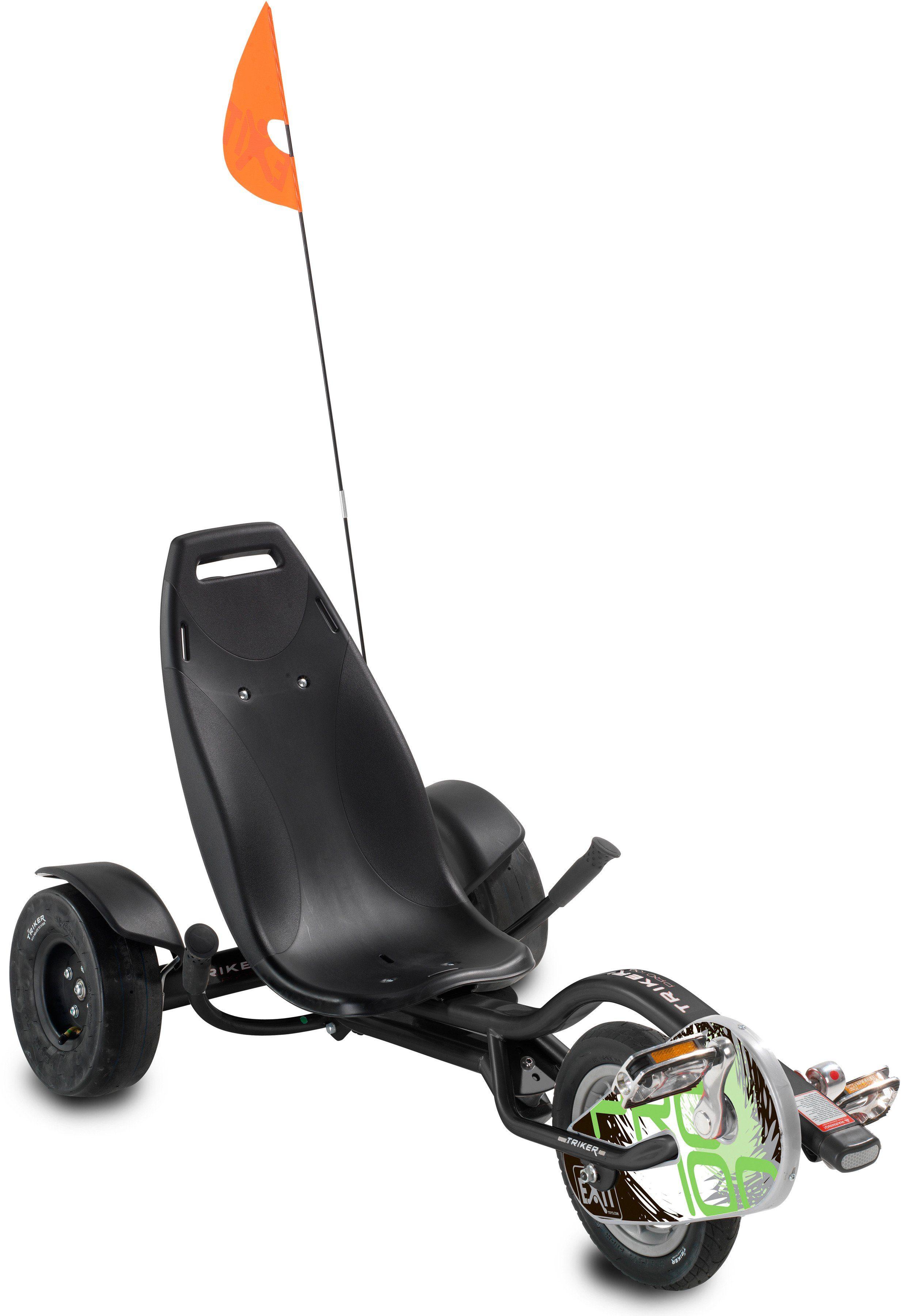 Go-Kart »EXIT Triker Pro 100 black«