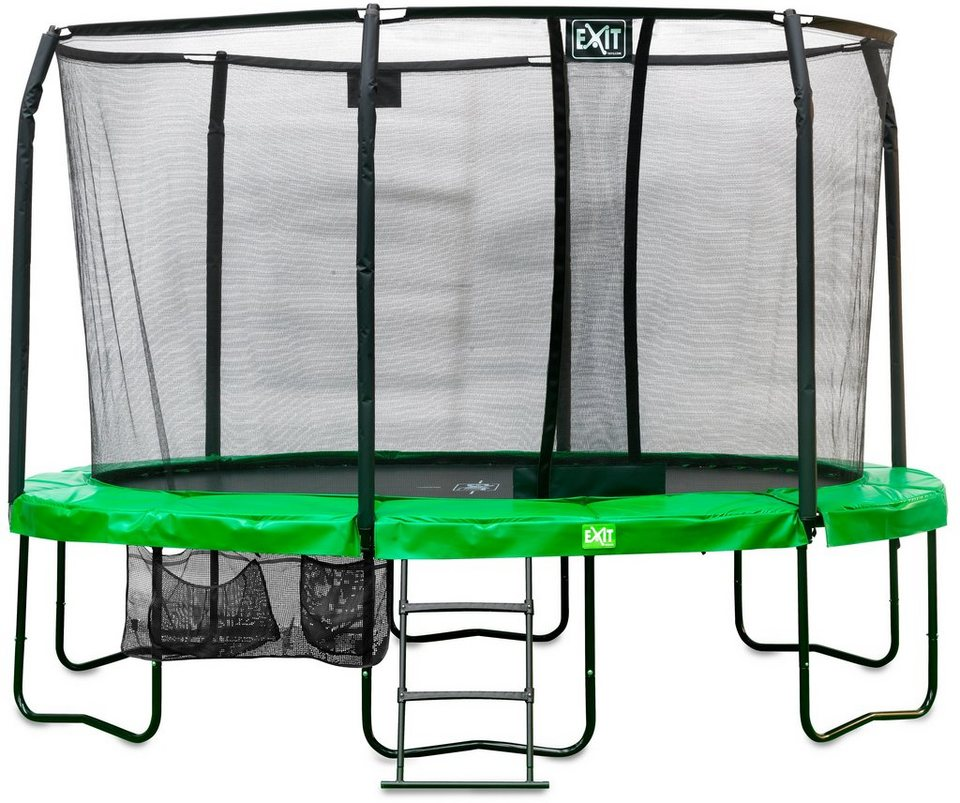 Trampolin »Trampolin EXIT Oval JumpArenA All-in 1 305x427 cm«