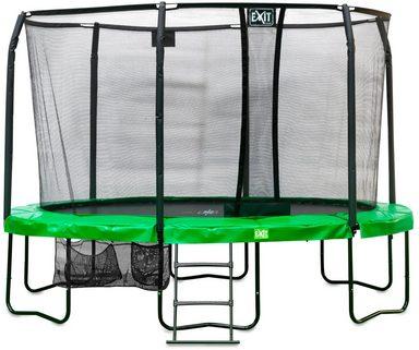 exit trampolin jumparena all in 1 oval bxt 305x427 cm online kaufen otto. Black Bedroom Furniture Sets. Home Design Ideas