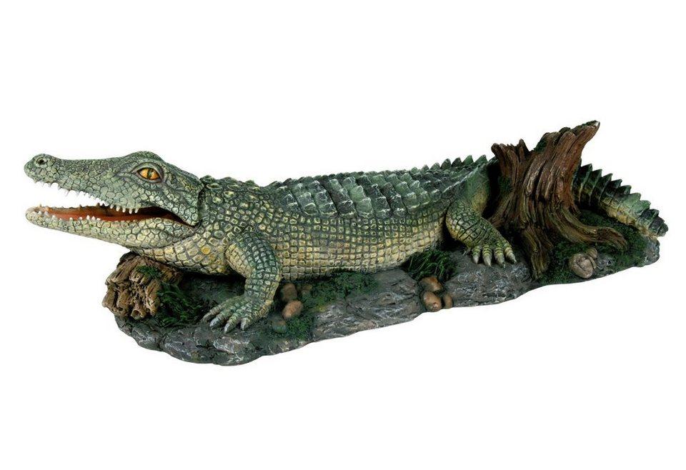 Aquariendeko »Krokodil« in bunt