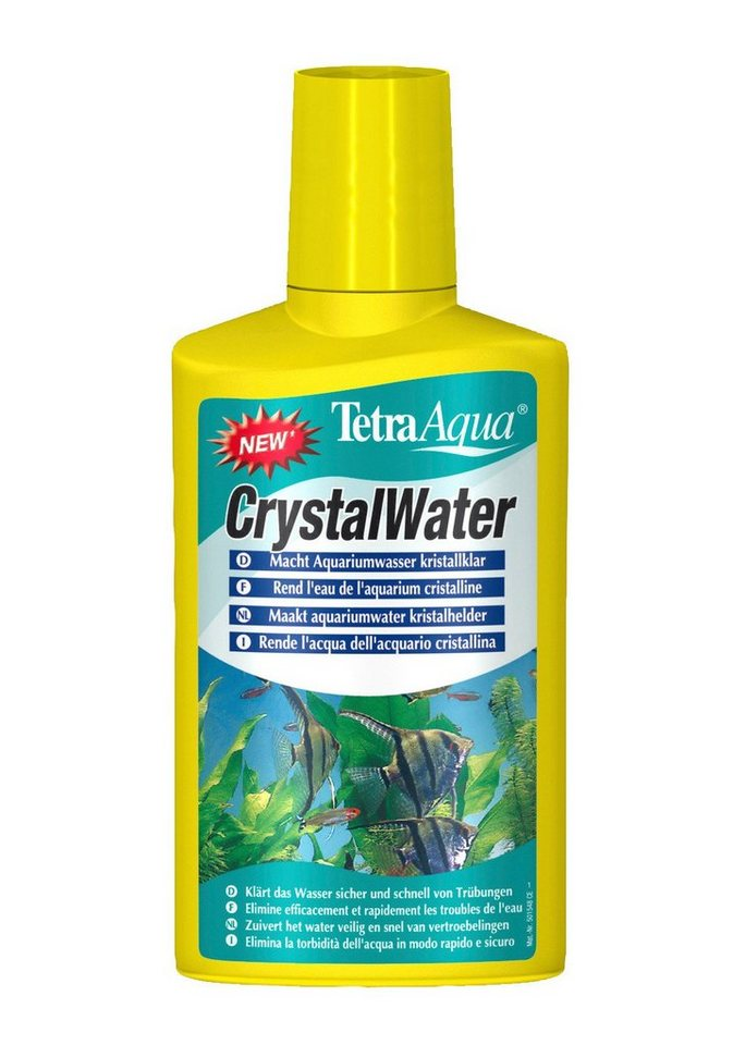 Aquarienfpflege »Crystal Water« 2-er Set in weiß