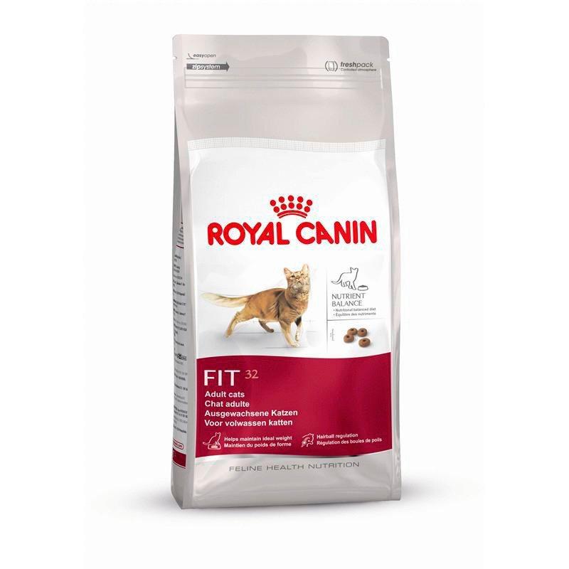Katzentrockenfutter »Fit 32«, 2 kg, 4 kg oder 10 kg in braun