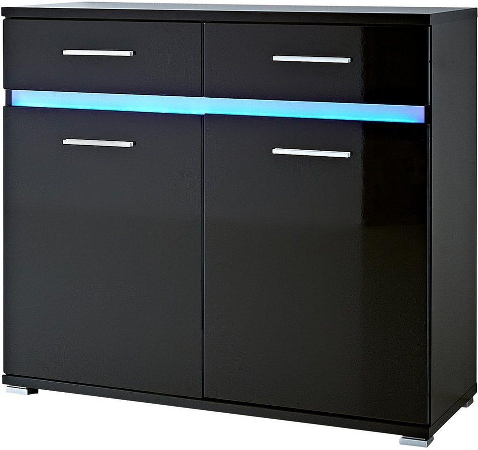 Kommode, »Melbourne«, Breite 96 cm in schwarz