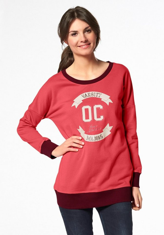 Ocean Sportswear Sweatshirt in Koralle