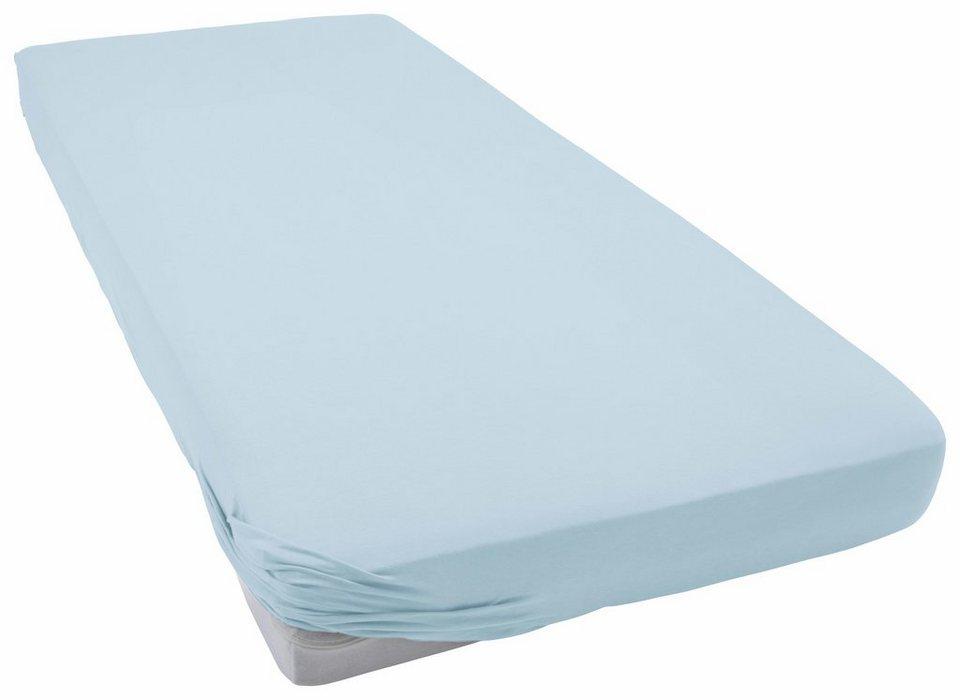 spannbettlaken jersey elasthan schlafgut f r. Black Bedroom Furniture Sets. Home Design Ideas