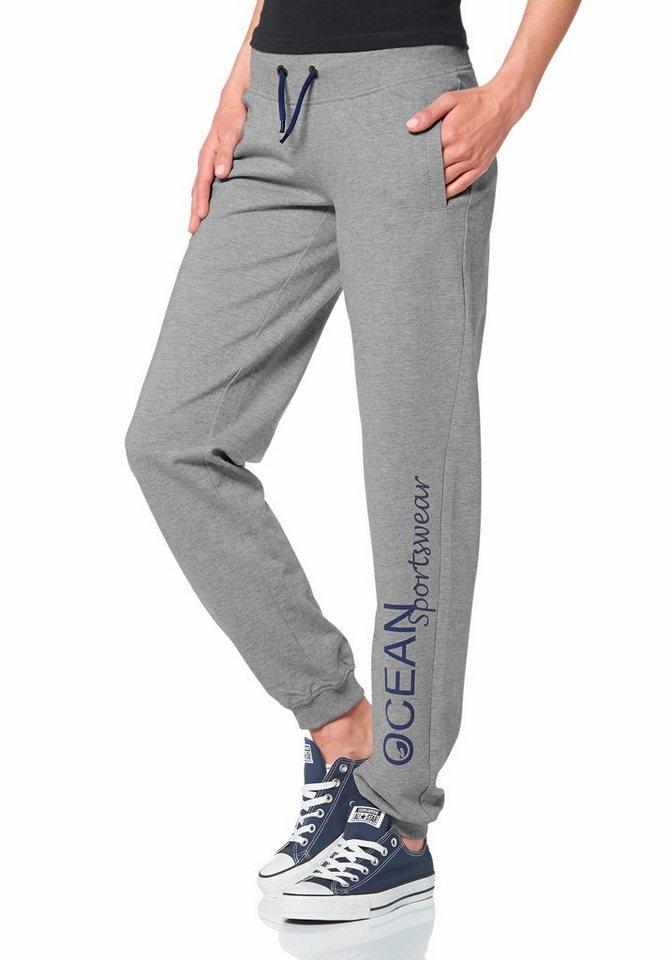 Ocean Sportswear Jogginghose in Grau-Meliert