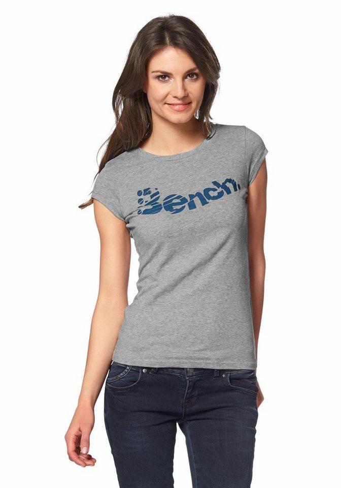 Bench Performance HARDEDGED T-Shirt in Grau-Meliert