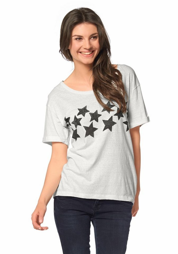 Roxy T-Shirt in Weiß