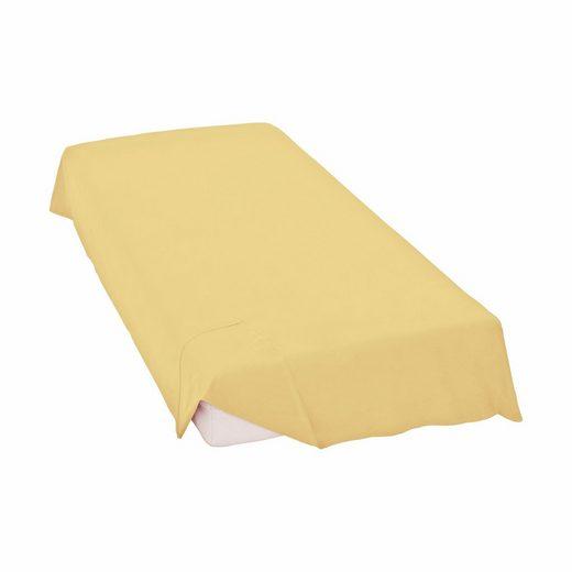 Bettlaken »Linon-Haustuch«, Schlafgut, ohne Gummizug