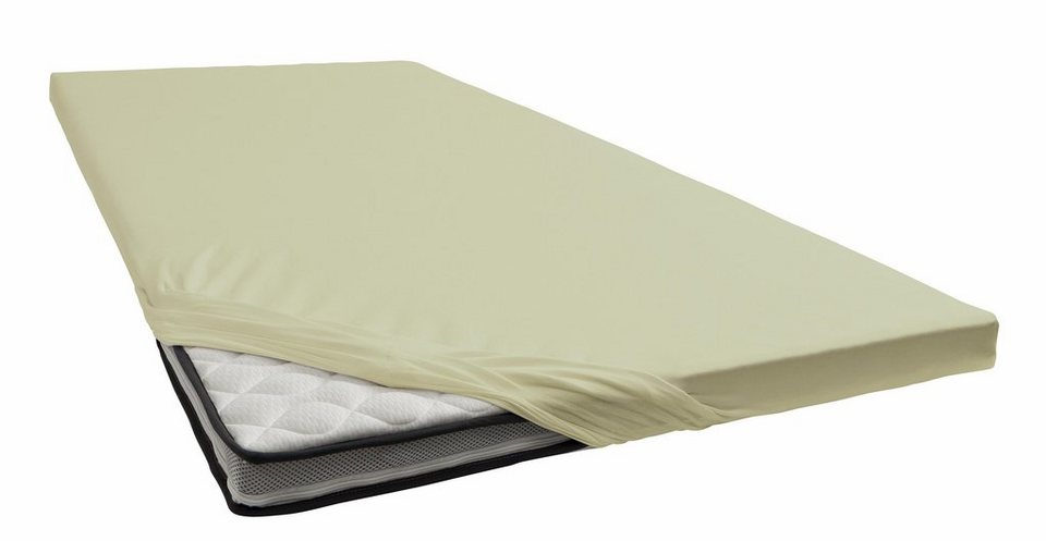 spannbettlaken jersey elasthan schlafgut f r topper. Black Bedroom Furniture Sets. Home Design Ideas