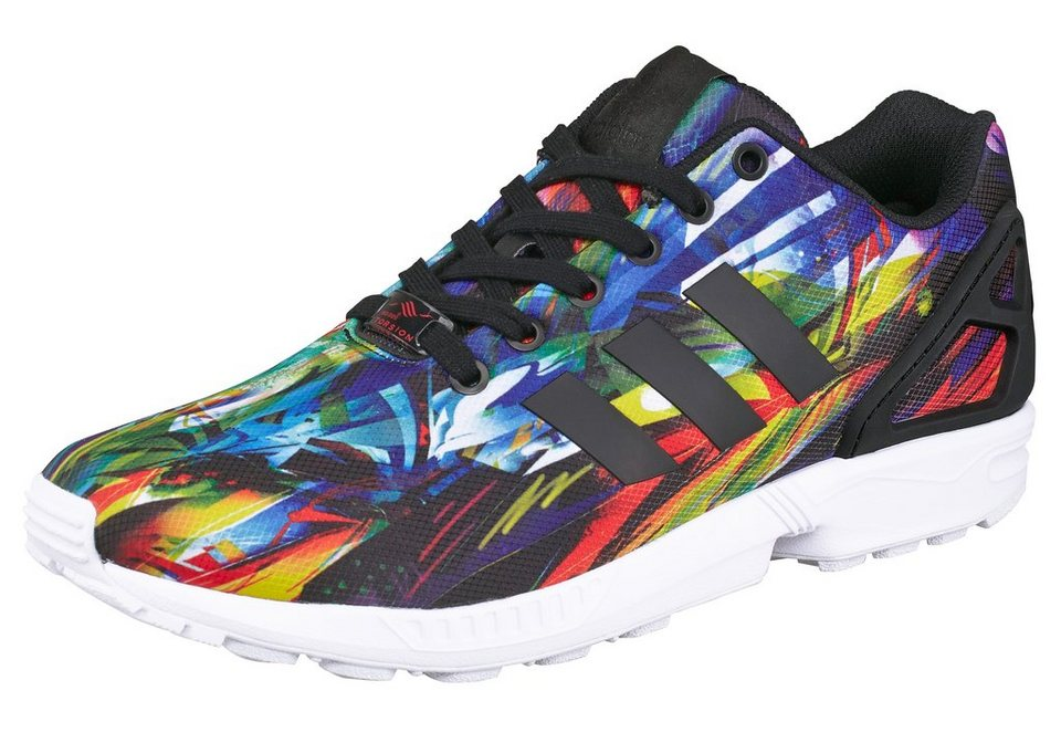 adidas Originals ZX Flux Sneaker in Bunt