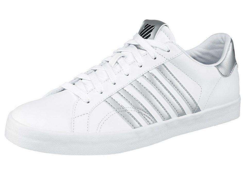 K-Swiss »Belmont SO« Sneaker in weiß-silberfarben