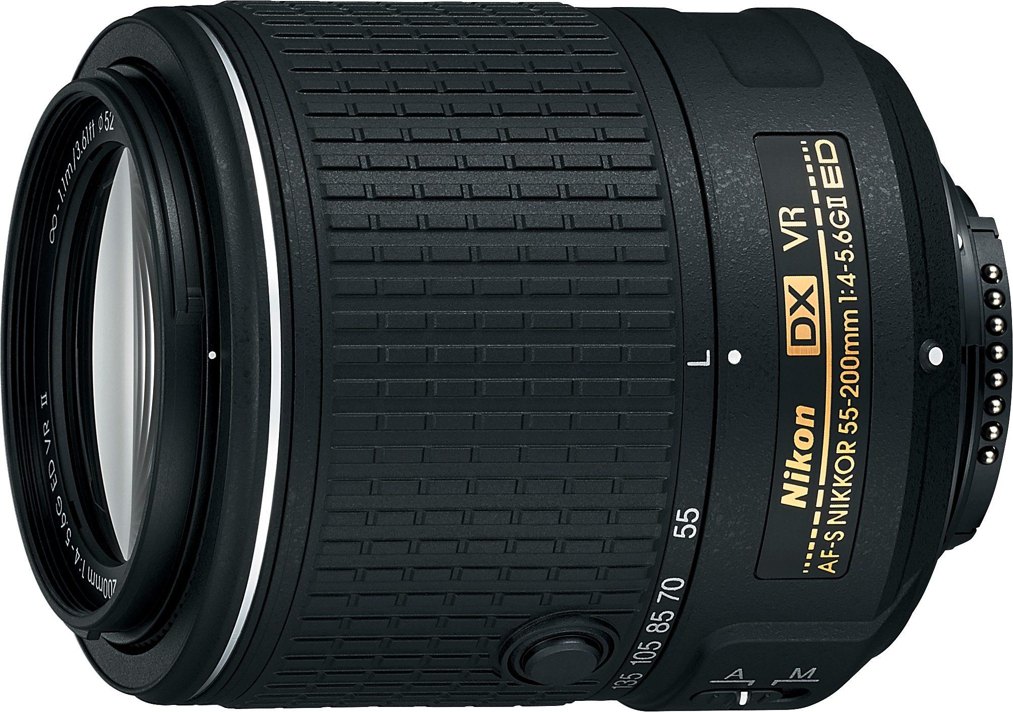 Nikon AF-S DX NIKKOR 55–200 mm 1:4-5,6G ED VR II Tele Objektiv