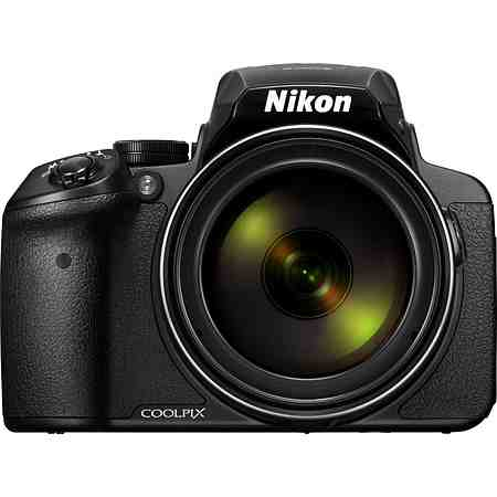 Nikon Coolpix P900 Bridge Kamera, 16 Megapixel, 83x opt. Zoom, 7,5 cm (3 Zoll) Display