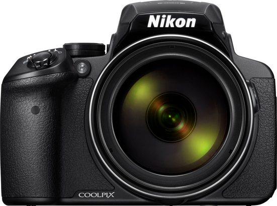 Nikon »Coolpix P900« Bridge-Kamera (NIKKOR-Objektiv mit 83-fachem optischen Zoom, 16 MP, 83x opt. Zoom, WLAN (Wi-Fi), NFC, 83 fach optischer Zoom)