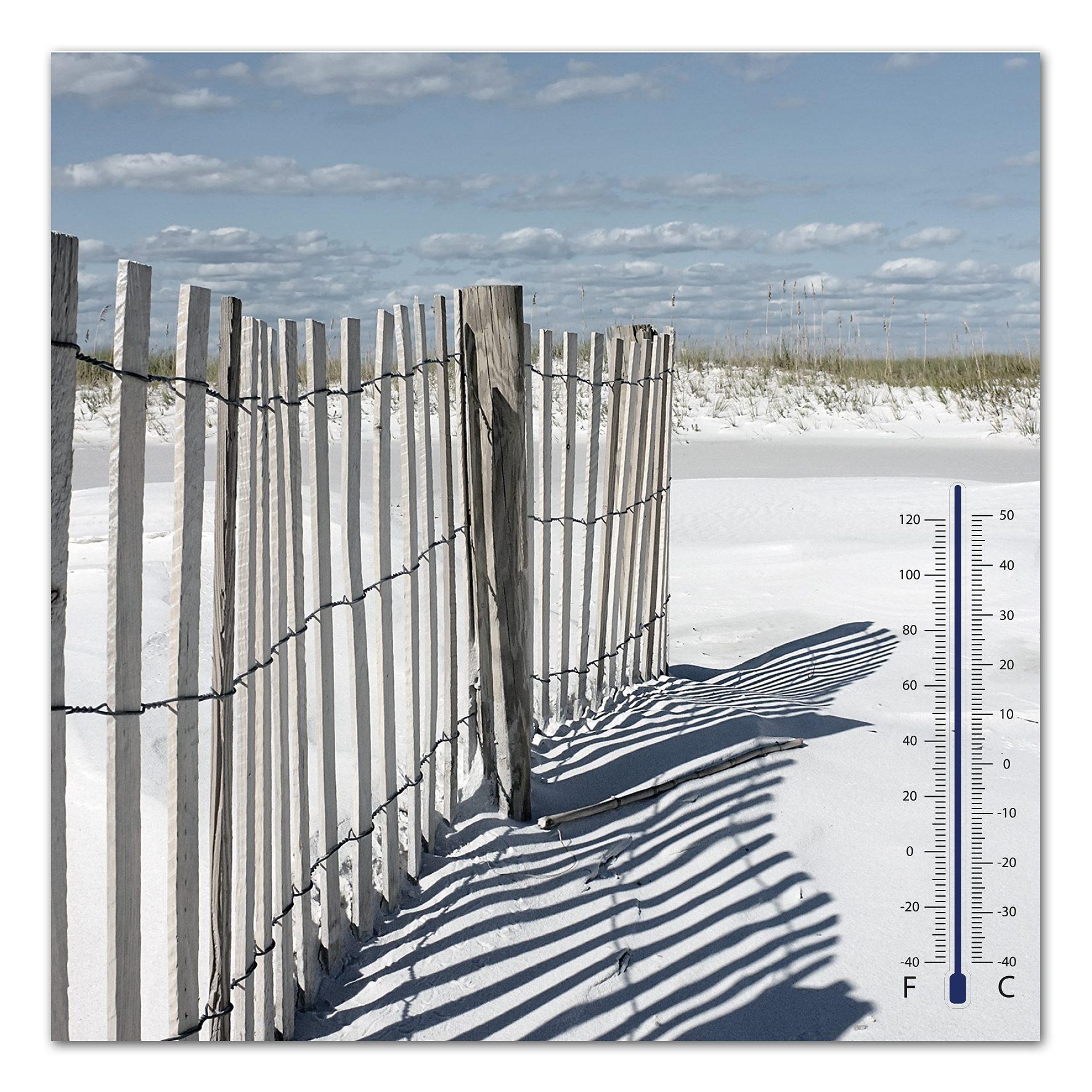 Thermometer Bild, Home affaire, »Düne«, 30/30 cm