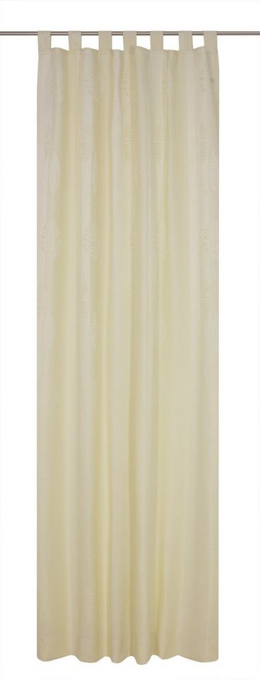 Vorhang, Wirth, »ILSENBURG«, mit Schlaufen (1 Stück) in creme