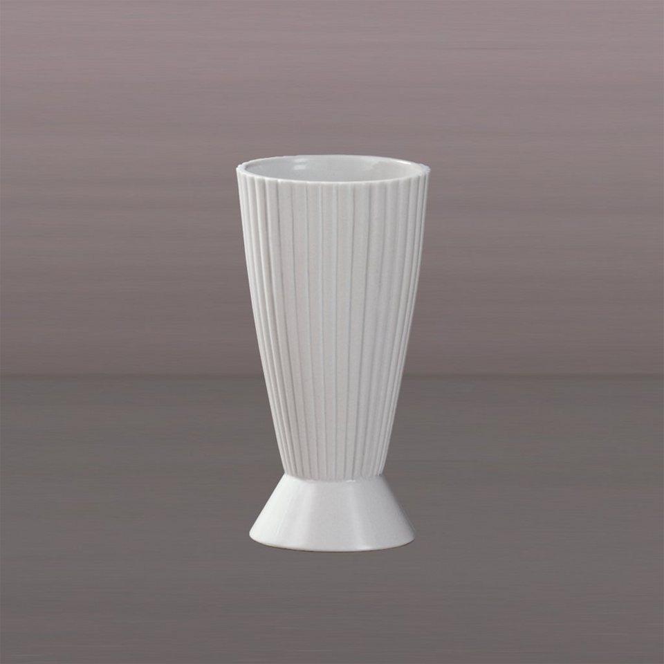 Kaiser Porzellan Vase »Pilaster« in Weiß, Pastell