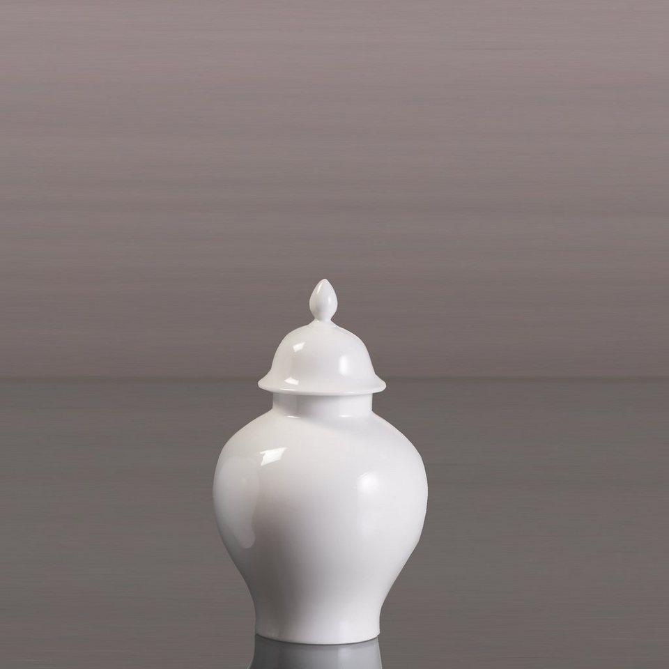 Kaiser Porzellan Deckelvase »Orient« in Weiß, Pastell