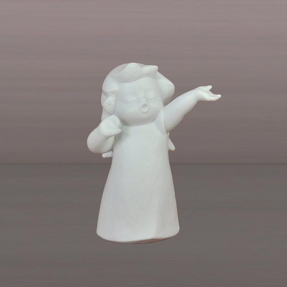 Kaiser Porzellan Guten Morgen »Engel-Kinder« in Weiß, Pastell