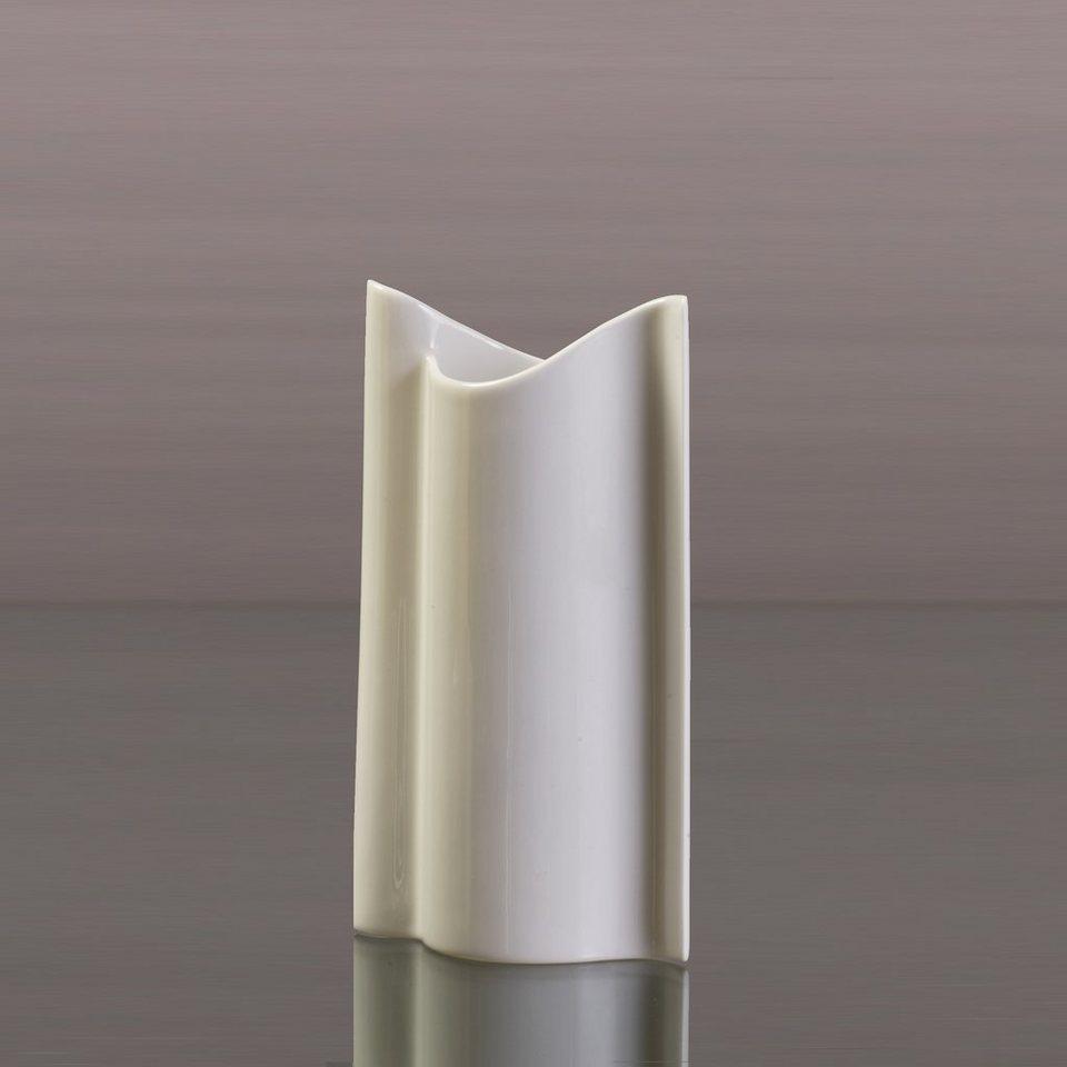 Kaiser Porzellan Vase »Schwinge« in Weiß, Pastell