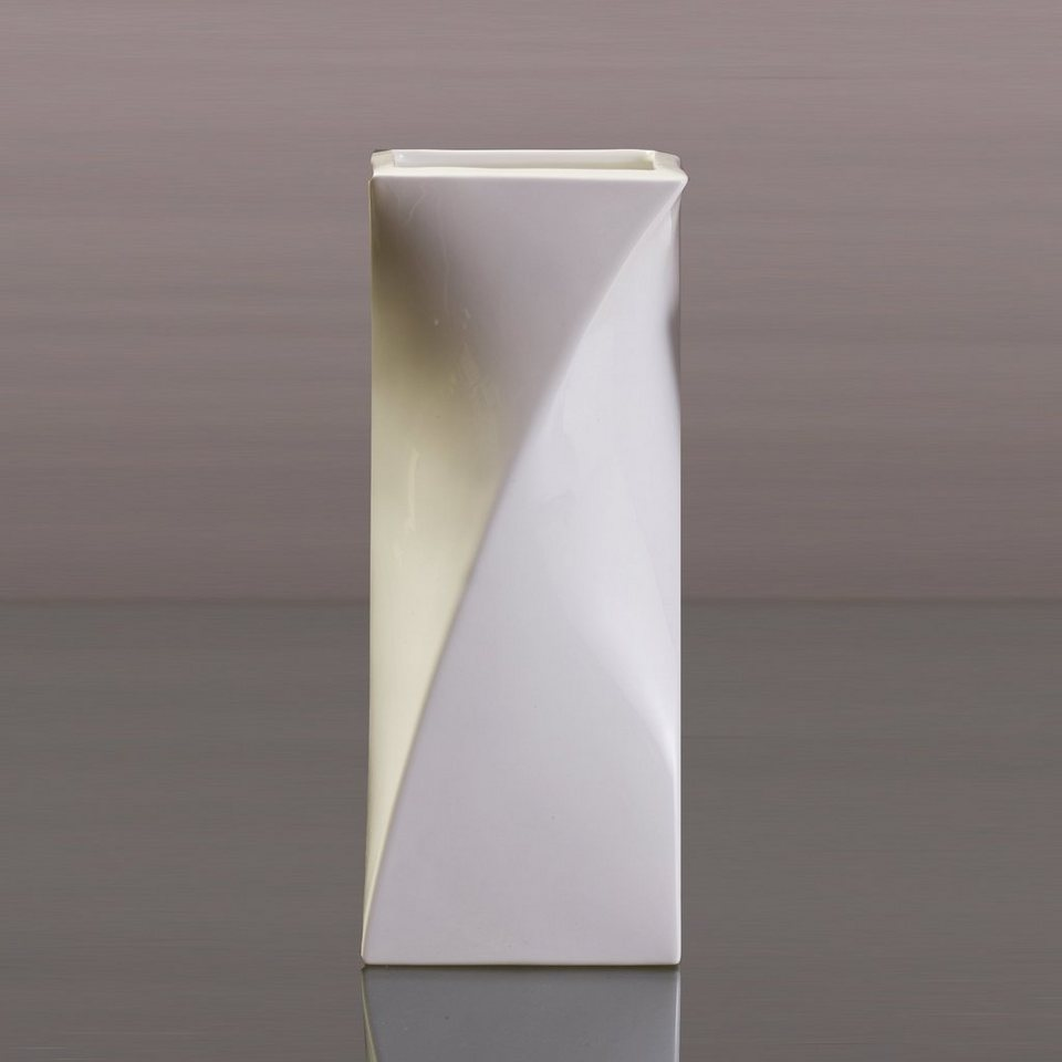 Kaiser Porzellan Vase »Quadriga« in Weiß, Pastell