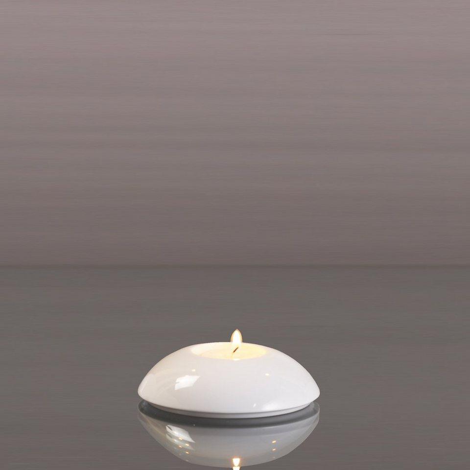Kaiser Porzellan Teelichthalter »Scheibe« in Weiß, Pastell