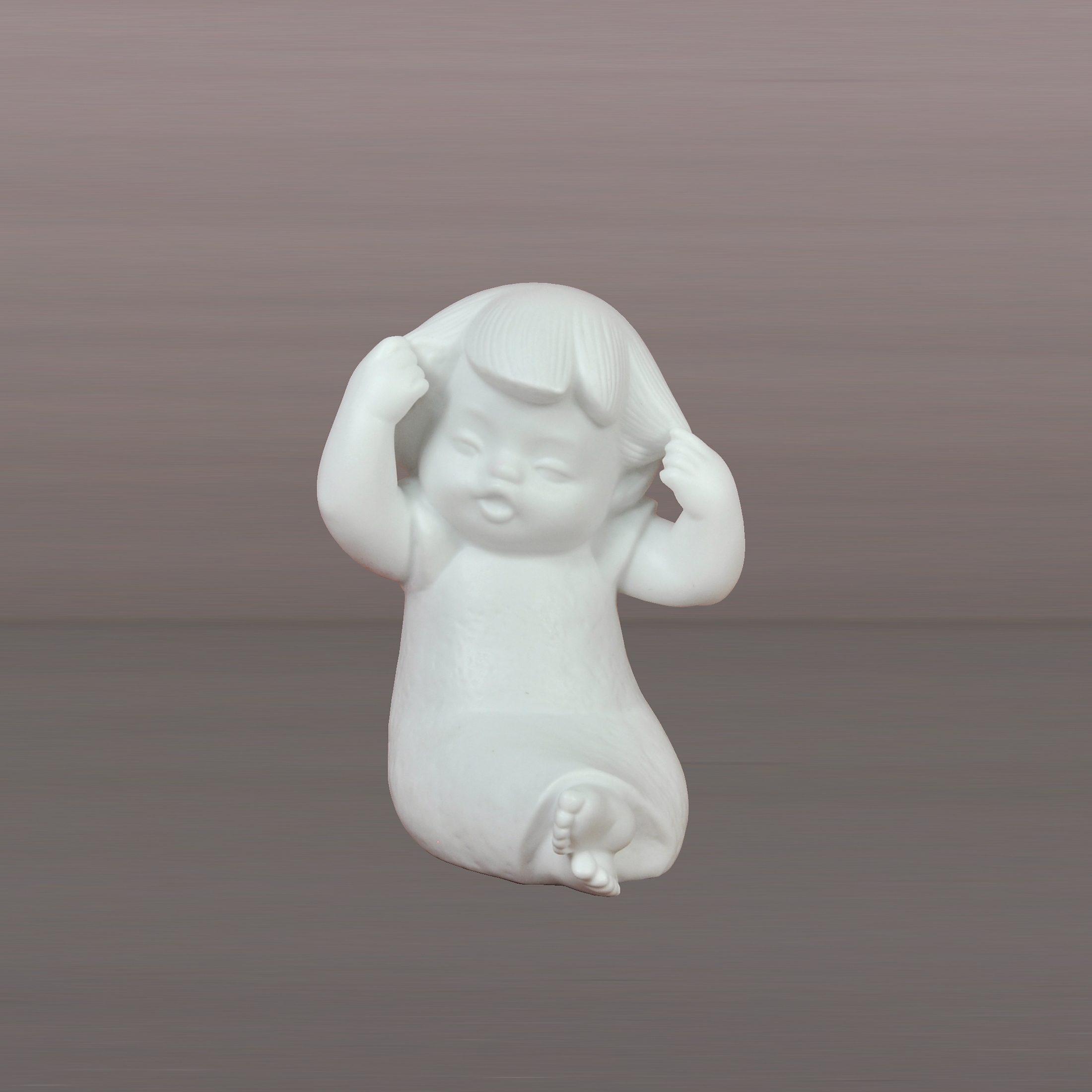 Kaiser Porzellan Frisch gekämmt »Engel-Kinder«
