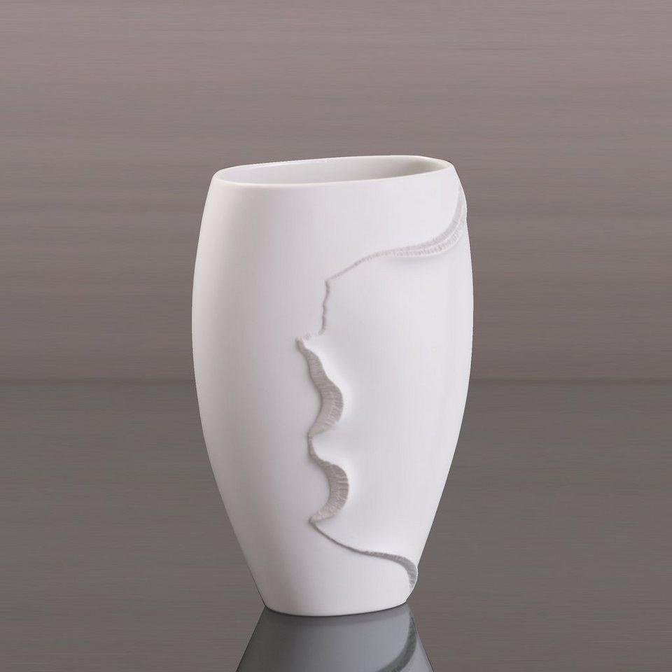 Kaiser Porzellan Vase »Montana« in Weiß, Pastell