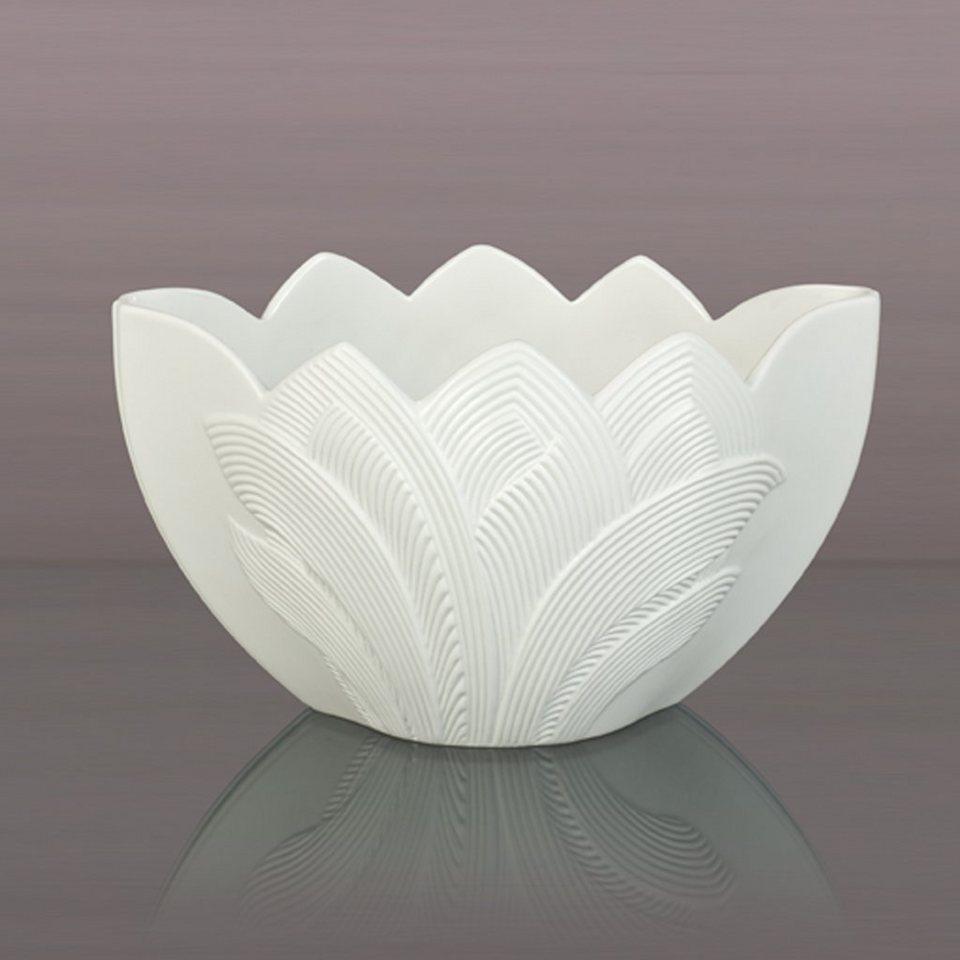 Kaiser Porzellan Schale »Palma« in Weiß