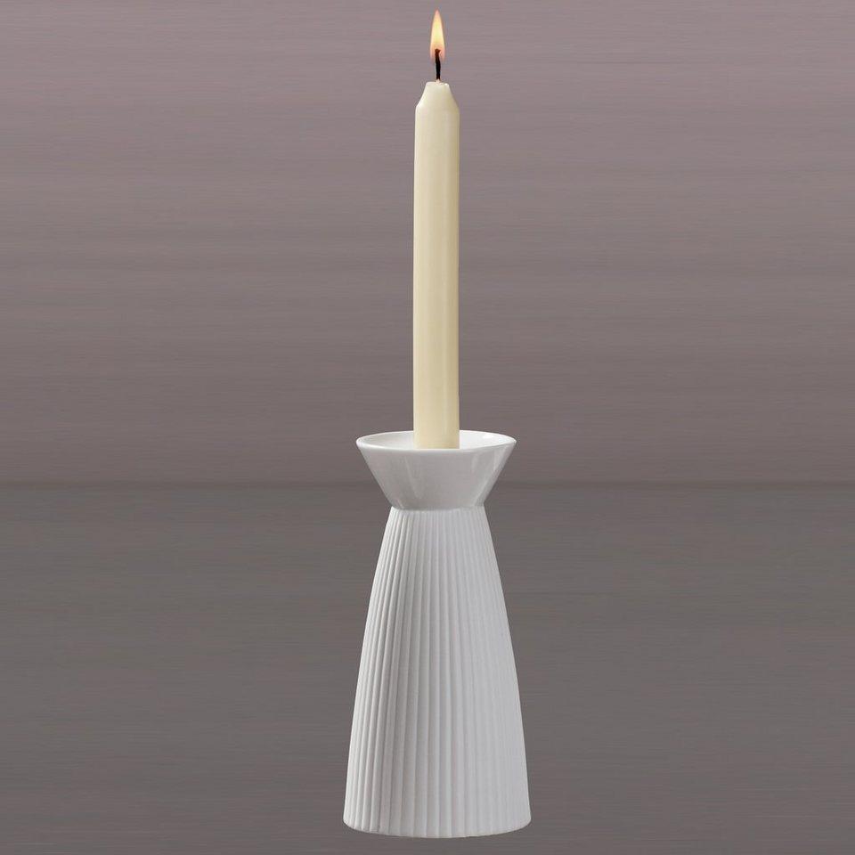 Kaiser Porzellan Leuchter »Pilaster« in Weiß, Pastell