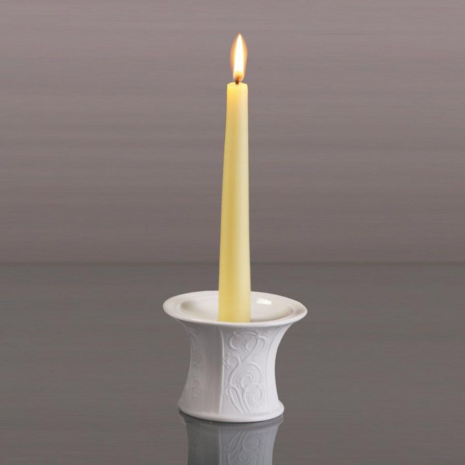 Kaiser Porzellan Leuchter »Girlande« in Weiß, Pastell
