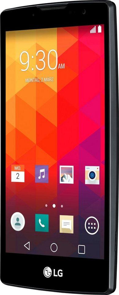 LG Spirit Smartphone, 11,9 cm (4,7 Zoll) Display, LTE (4G), Android 5.0, 8,0 Megapixel, NFC in titansilberfarben