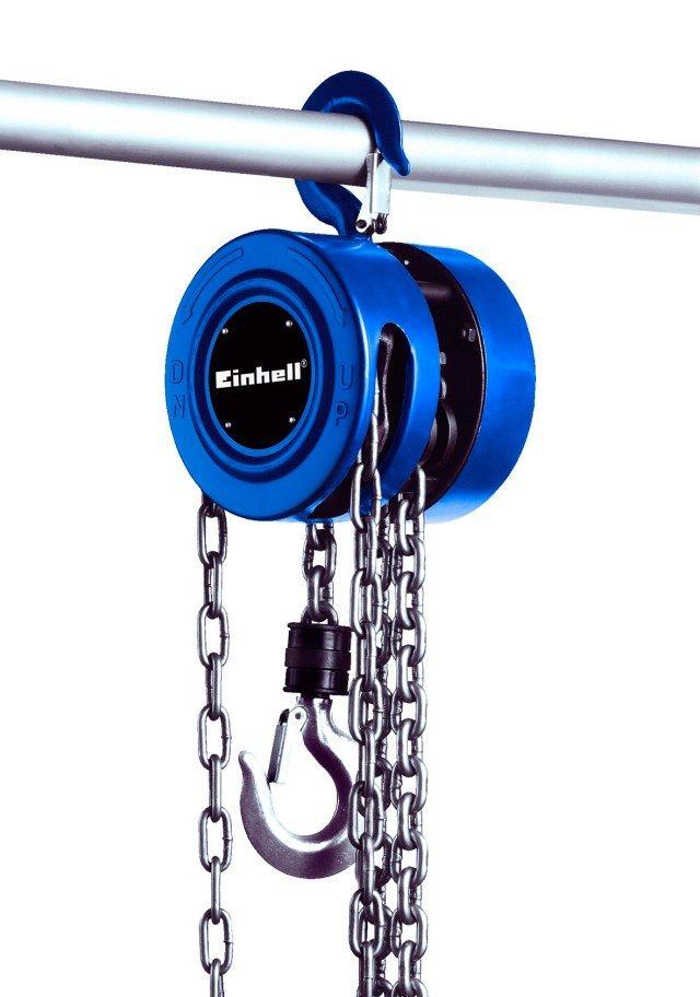 Kettenflaschenzug »BT-CH 1000« in blau
