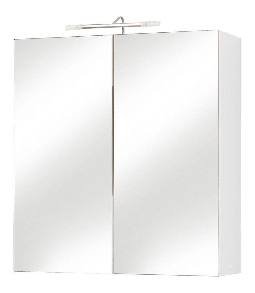 spiegelschrank como breite 65 cm mit beleuchtung online kaufen otto. Black Bedroom Furniture Sets. Home Design Ideas