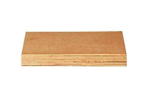Eckverbindungsplatte Holz, 40 mm in natur